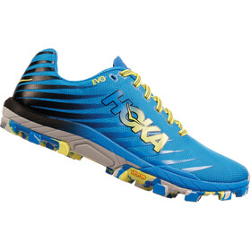 Hoka One One Evojawz Running Shoes Dame cyan/citrus